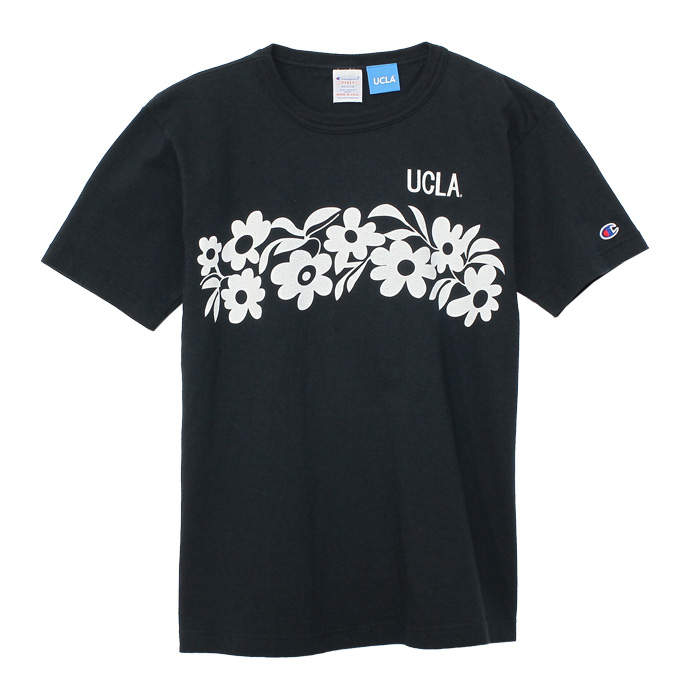 <UCLA>T1011(�e�B�[�e���C���u��) US T�V���c T�V���c 15SS MADE IN USA �`�����s�I��(C5-F303)