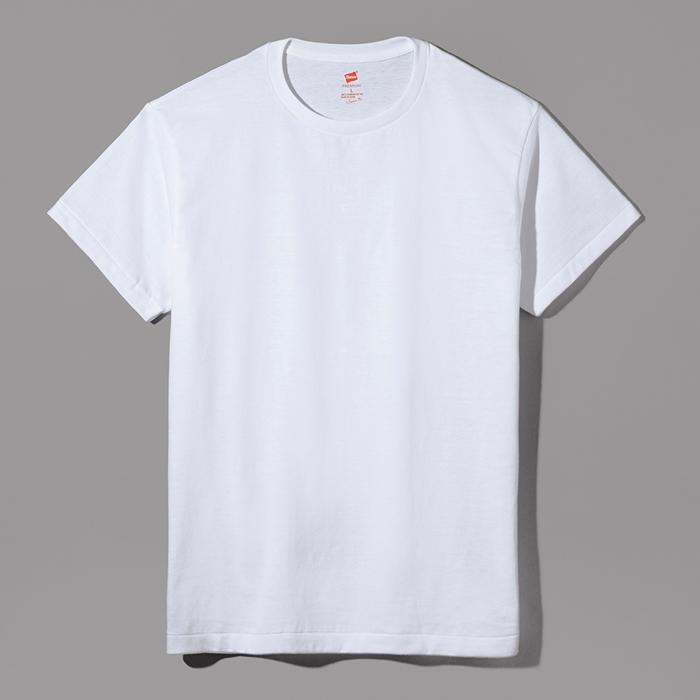 ヘインズ プレミアムジャパンフィット クルーネックTシャツ 17SS PREMIUM Japan Fit(HM1-F001)