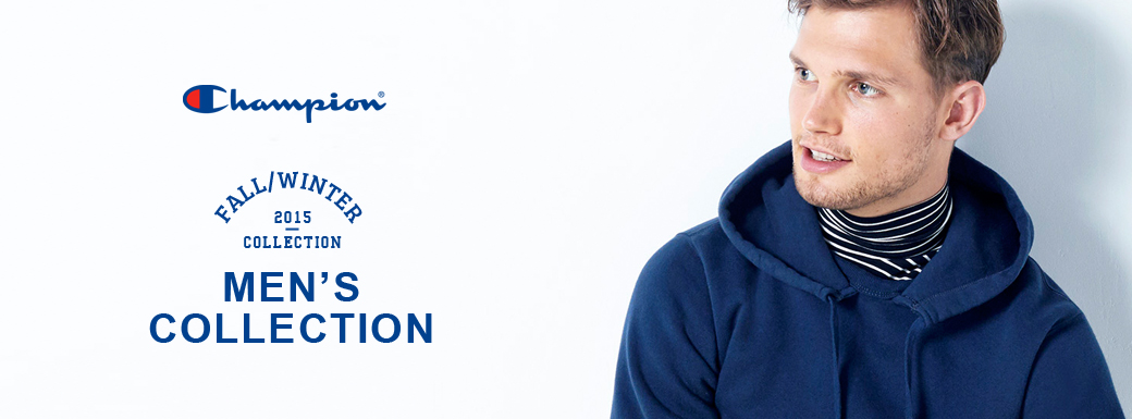 Champion 2015 FALL&WINTER COLLECTION