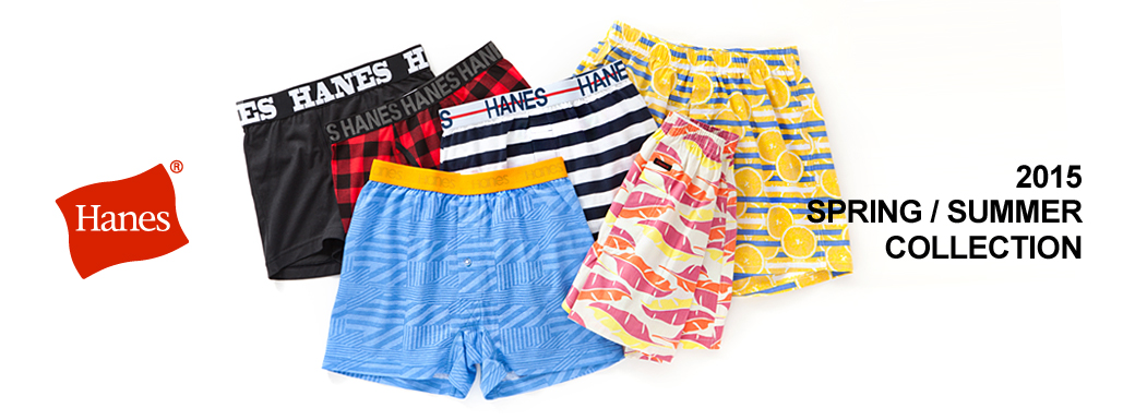 Hanes 2015 SPRING/SUMMER COLLECTION