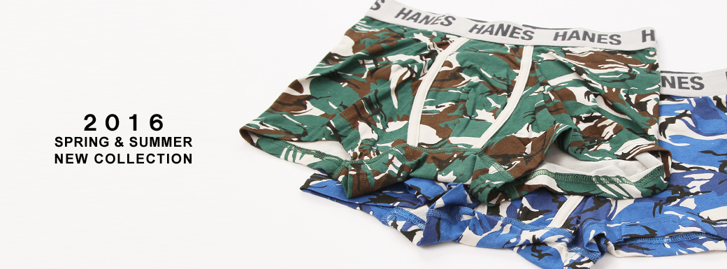 Hanes 2016 SPRING&SUMMER COLLECTION