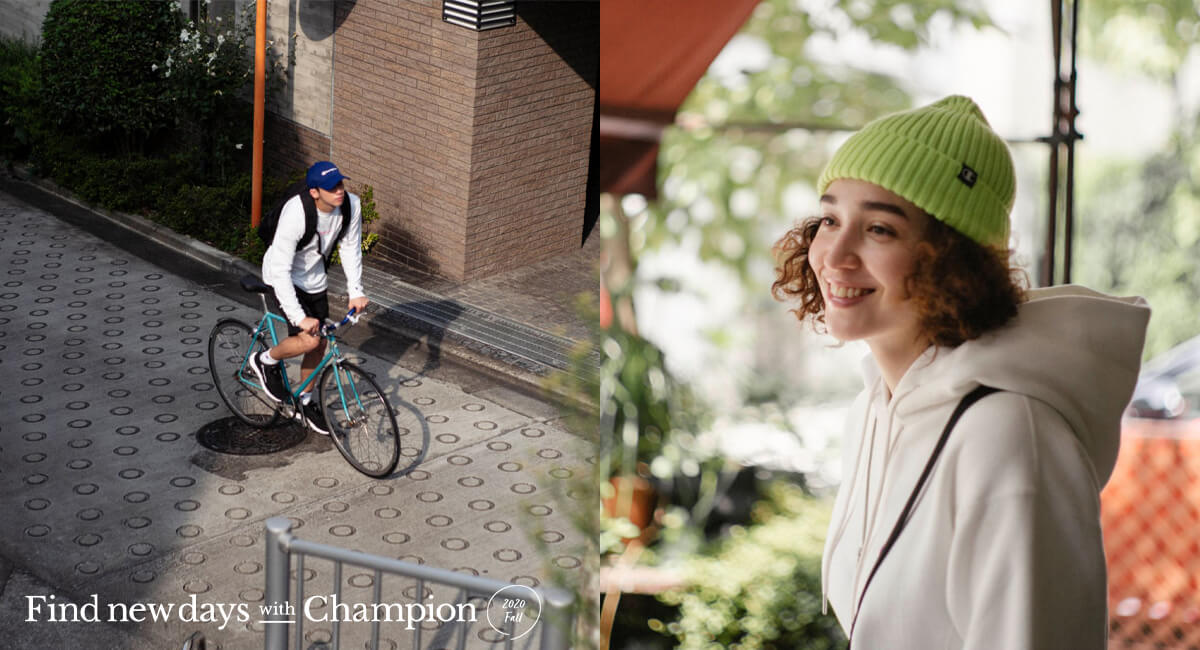 Find new days with Champion 2020 Fall