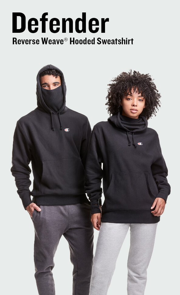 Defender Reverse Weave® Hooded Sweatshirt